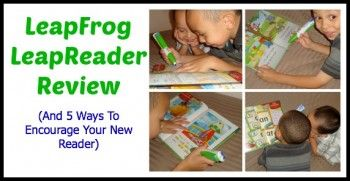 LeapFrog LeapReader Review (And 5 Ways To Encourage Your New Reader)