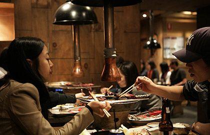 Wooga Korean Restaurant, Korean BBQ and hotpot, North Melbourne