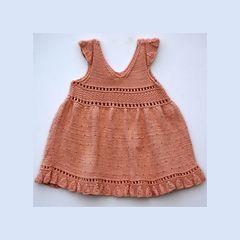 Ravelry: Cotton Baby Dress pattern by Irina Poludnenko