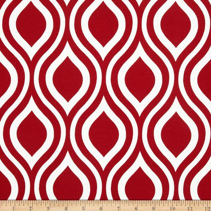 Premier Prints Indoor/Outdoor Nicole Rojo Fabric