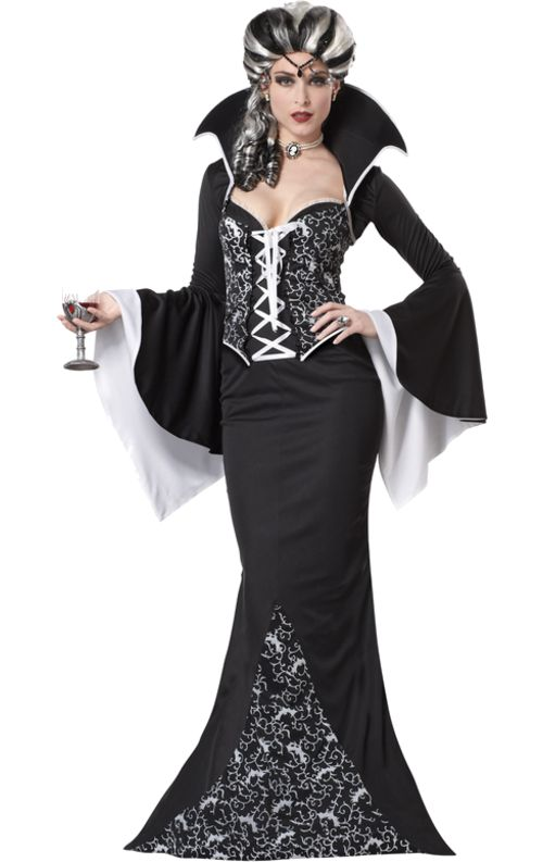Royal Vampiress £51.50 : Direct 2 U Fancy Dress  Superstore. Fancy Dress, Party Themes & Accessories For The Whole Family. http://direct2ufancydress.com/royal-vampiress-p-5993.html
