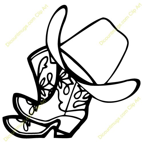 Cowboy clip art clipart panda free clipart images for Cowboy silhouette tattoo
