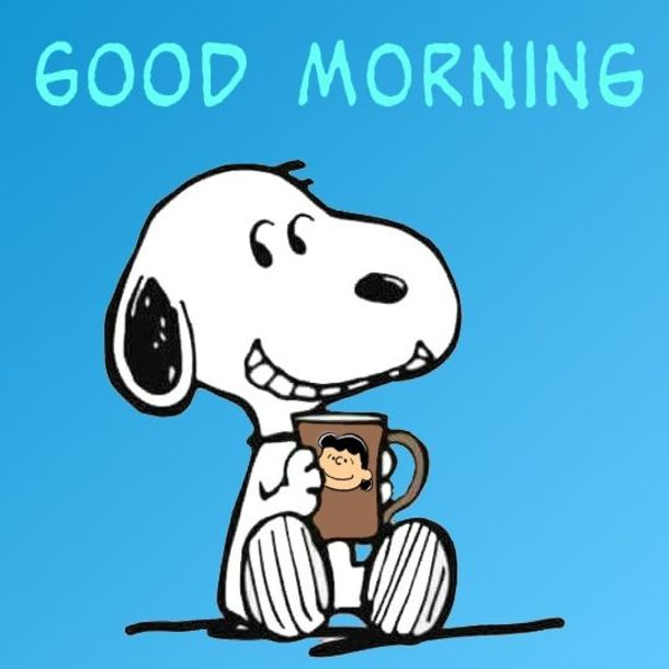 10 New Good Morning Quotes & Images | Good morning snoopy, Snoopy funny, Good  morning cartoon