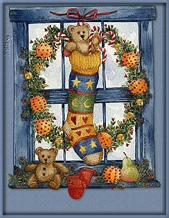 Painted and copyrighted by Diane Knott for Legacy Publishing Group Christmas cards