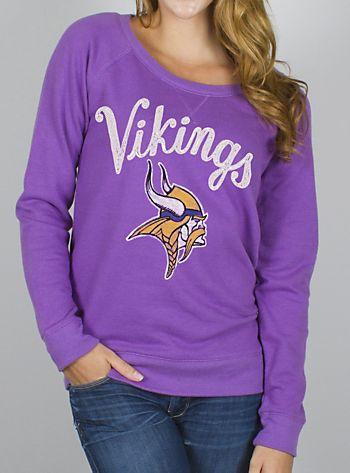 """NFL Minnesota Vikings Field Goal Fleece w/ Embroidery"""""""
