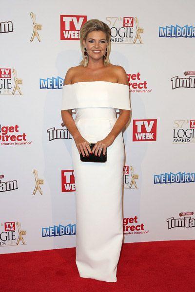 Rebecca Maddern at the 2015 Logies.