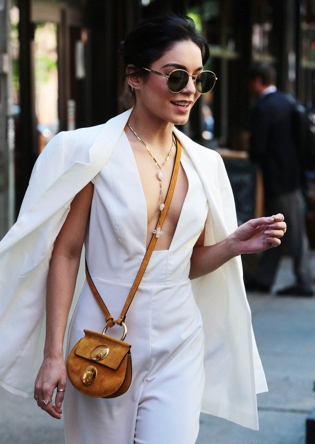 This is how I also look when I'm going to my local bodega, Vanessa Hudgens.