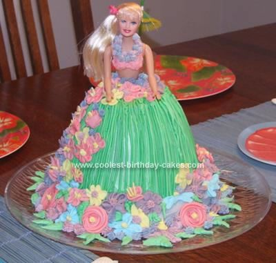 Birthday Cake Ideas Girl 7 : Coolest Hula Girl Birthday Cake Party cakes, Birthday ...