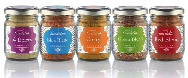 Tau Delta Salts & Spices | Packaging of the World: Creative Package Design Archive and Gallery
