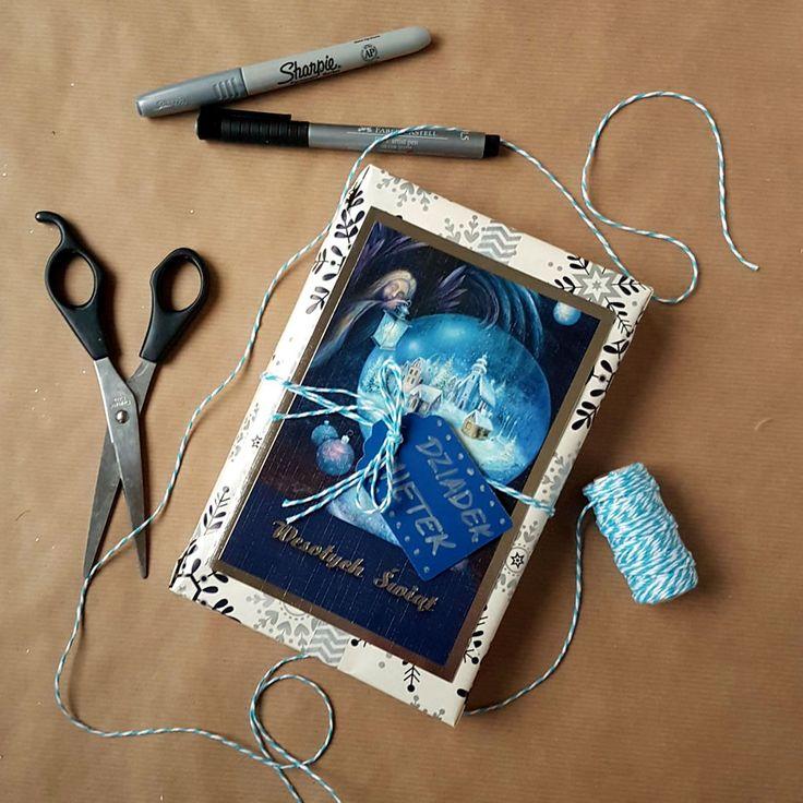 kreatywne pakowanie prezentów [creative gifts wrapping - postcard]