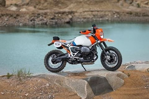 The BMW Motorrad Concept Lac Rose. Inspired by the past Paris-Dakar Rallye heroes and their victorious BMW machines, BMW Motorrad is showing a completely new interpretation of the BMW R nineT perfectly in line the with spirit of the Wheels & Waves Festival.  #bmwconceptlacrose #conceptlacrose #bmwbikes #bmwmoto #bmwmotorcycles #bmwmotorrad #bmw #makelifearide #rideandshare