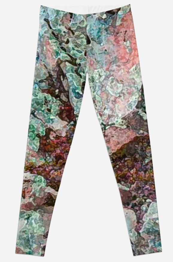 I'm Lichen Rocks Leggings by Polka Dot Studio|Redbubble, new #digital #photographic #nature #art on #pants for #her. Comfortable enough for #leisurewear or #travel, cool enough for any get together. Looks great with the coordinating T's.
