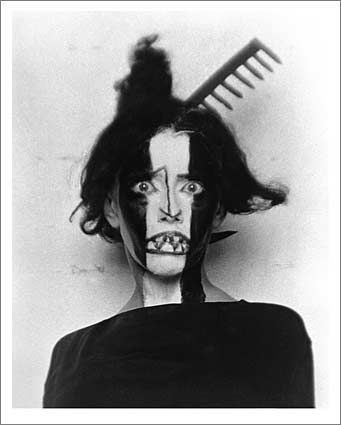Man Ray: Bronislava Nijinska year: 1922 (unrelated to image above, although I do think the model looks appropriately appalled as well.) I am just astounded at people's stupidity and short-sightedness sometimes.