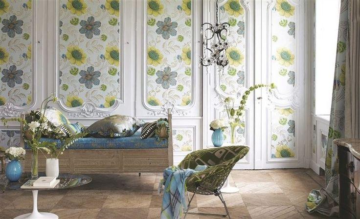 les 25 meilleures id es concernant papier peint shabby chic sur pinterest escaliers de papier. Black Bedroom Furniture Sets. Home Design Ideas