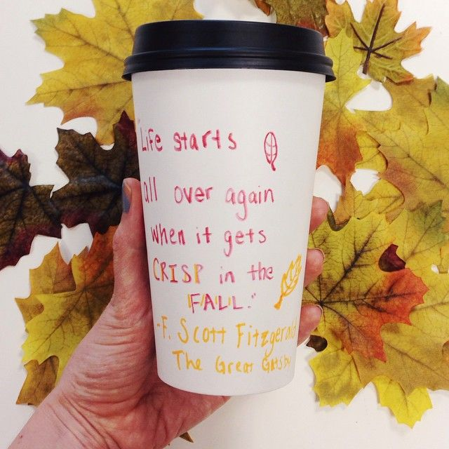 """""""Life starts all over again when it gets crisp in the fall."""" -F Scott Fitzgerald #fall #quotes"""