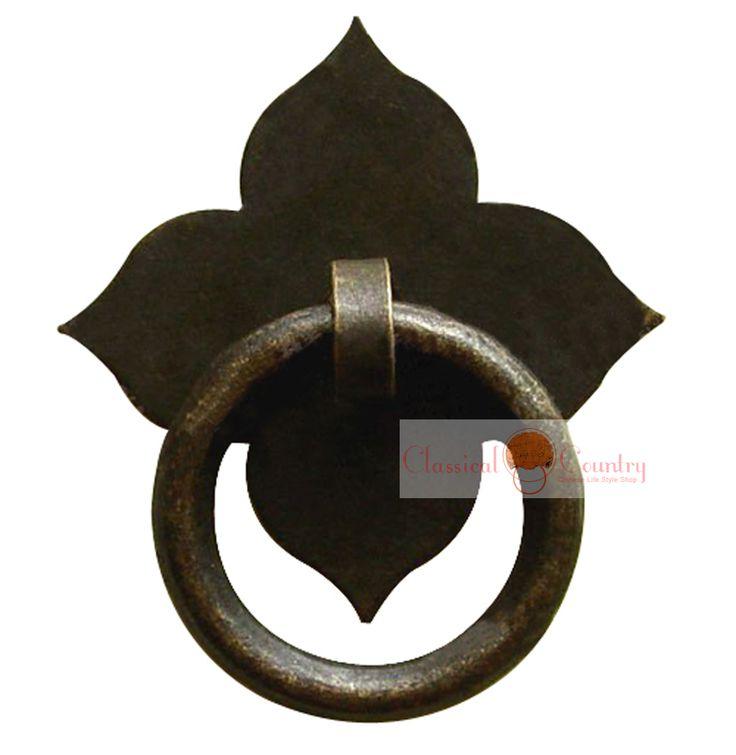 Drawer pull knob pull handles brass hardware chinese for Asian furniture hardware drawer pulls