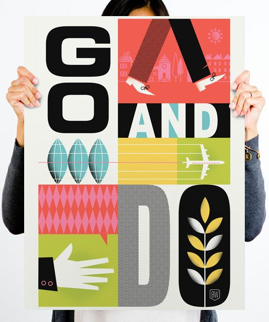 Go And Do by Brad Woodard