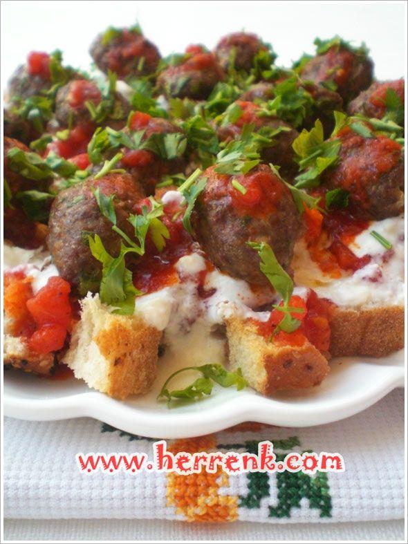 Köfteli Ramazan Pideli köfte yapımı,