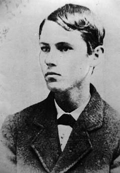 Jesse James at age 14 in 1862