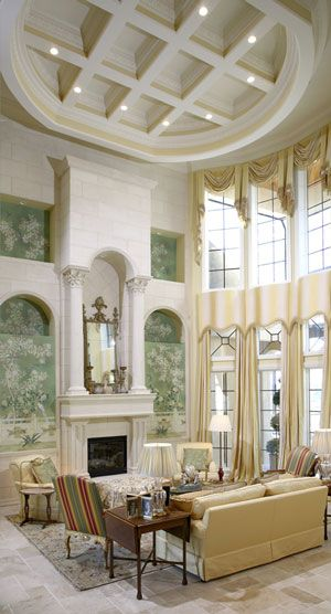 Two-Story Formal Living Room by Robert Kevin Cassidy