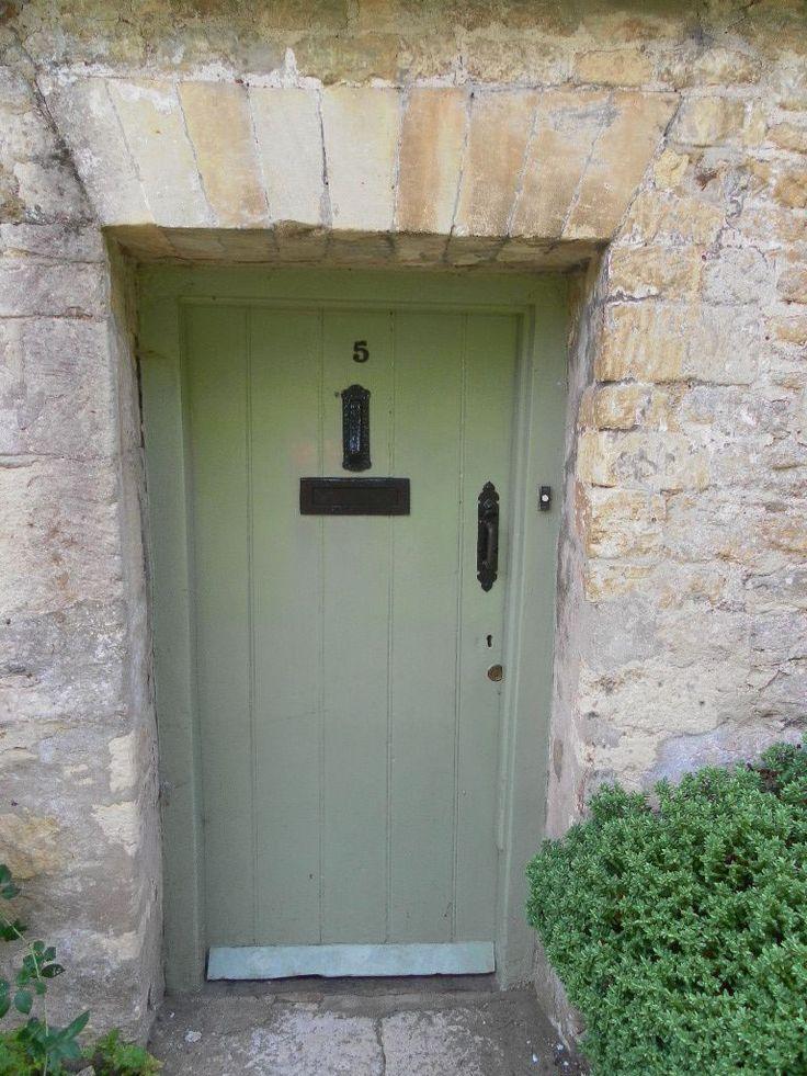 Cotswold Cottage Exterior Door Paint Colours