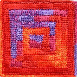 Crochet Stitch Ltr : Spirals, Squares and Crochet on Pinterest