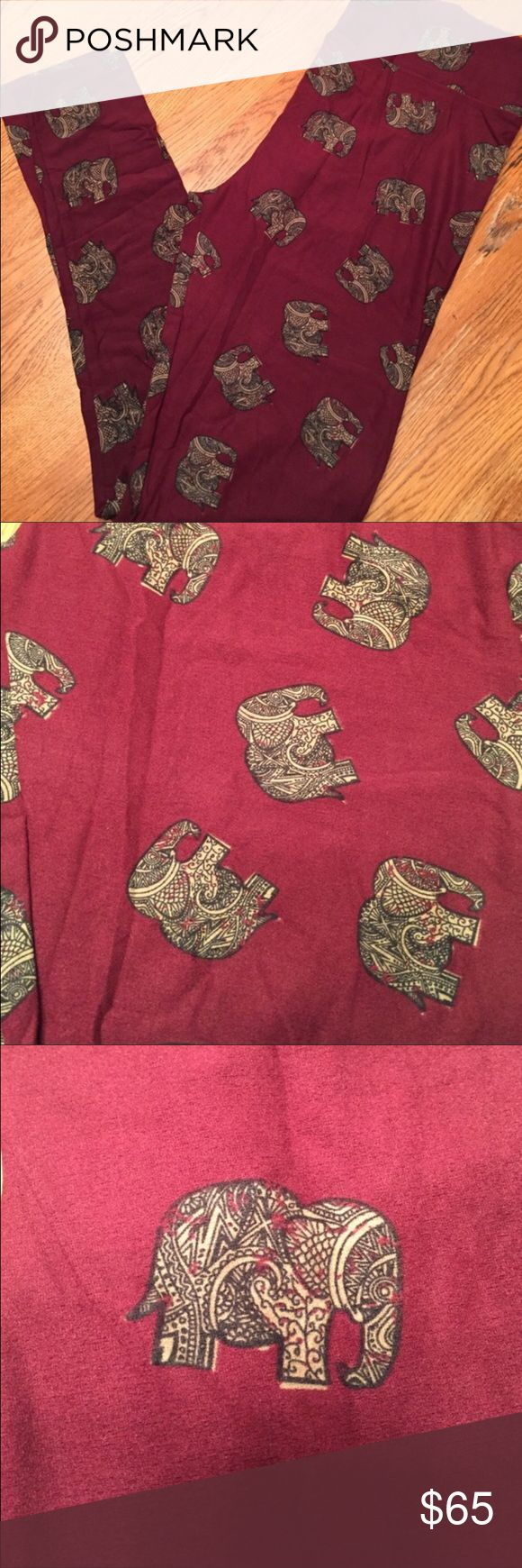 LuLaRoe OS MOSAIC ELEPHANTS leggings Brand new with tag. OS one size (fits most 2-10) mosaic elephant leggings. Never tried on or worn. rare, hard to find unicorn print. *I am NOT a LuLaRoe consultant. Just an addict who loves to hunt for great prints.* LuLaRoe Pants Leggings