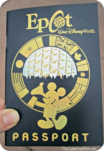 Epcot World Showcase Passport - When kids visit the Kid Cot Fun Stops at each country at Epcot, they get a stamp for their passport.  How cool is this!
