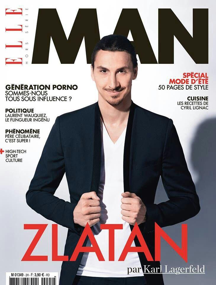 Zlatan Ibrahimovic – photographed by Karl Lagerfeld... :P
