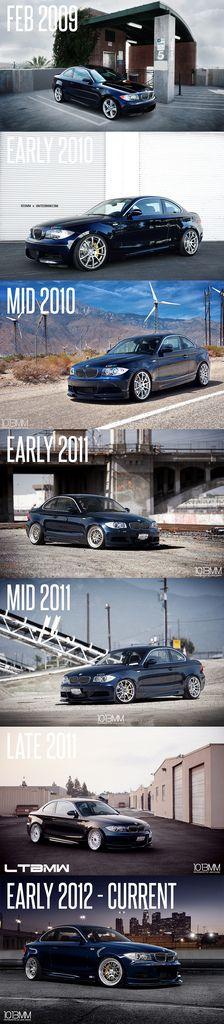 Timeline Progression of My BMW 135i