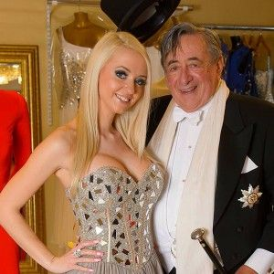 """Cathy Schmitz. Austrian Playboy model, Cathy Schmitz married construction billionaire Richard Lugner in 2014. Luckily for her husband he is quoted to say """"I am still worried she is more interested in my bank account than me""""."""
