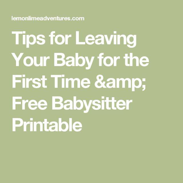 Best 25+ Babysitter printable ideas on Pinterest Babysitter - babysitting duties