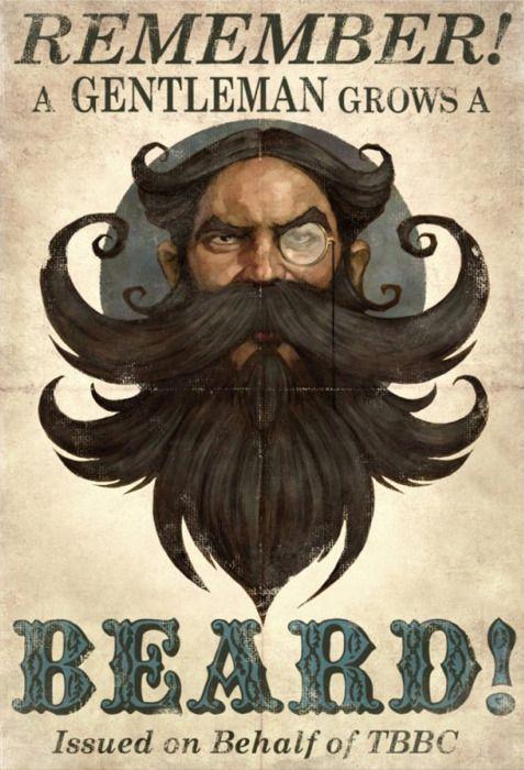 ...grows a beard...