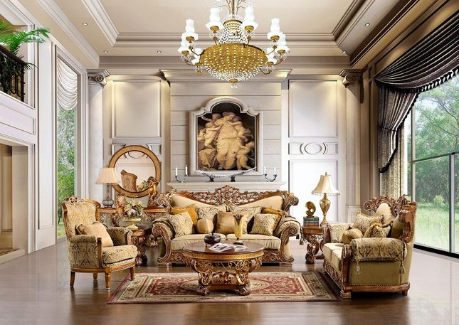 Living Room Furniture Traditional Style