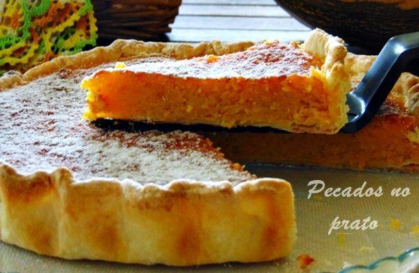 Pecados no prato: #Tarte de #abóbora com coco #tartedeabobora