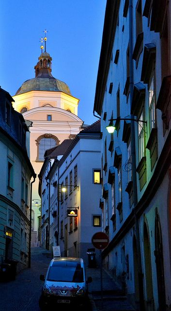 Lanes of Olomouc (North Moravia), Czechia
