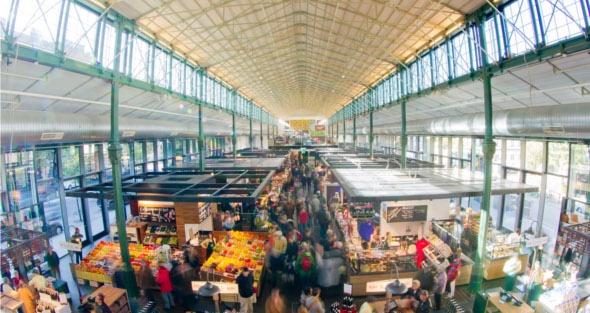 Neues Fischrestaurant in der Münchener Schrannenhalle