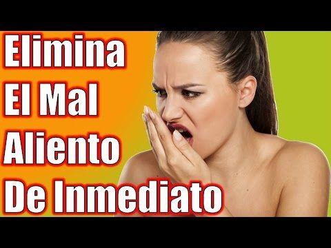 Descubre Cómo Quitar el Mal Aliento en la Boca o Halitosis con Remedios Caseros - YouTube