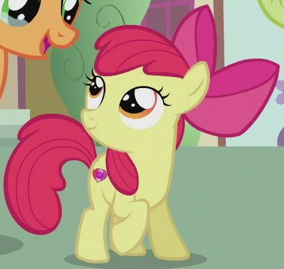 My Little Pony Friendship Is Magic Baby Apple Bloom Apple Bloom | Apples