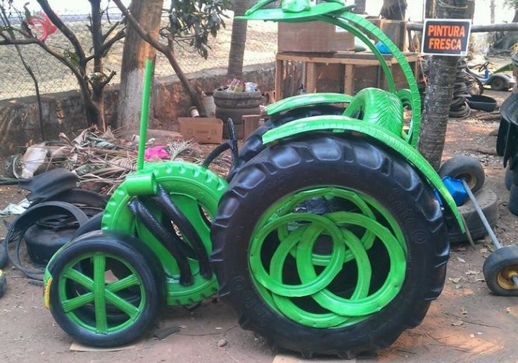 510 best images about art tire on pinterest discover for Tractor tire recycling