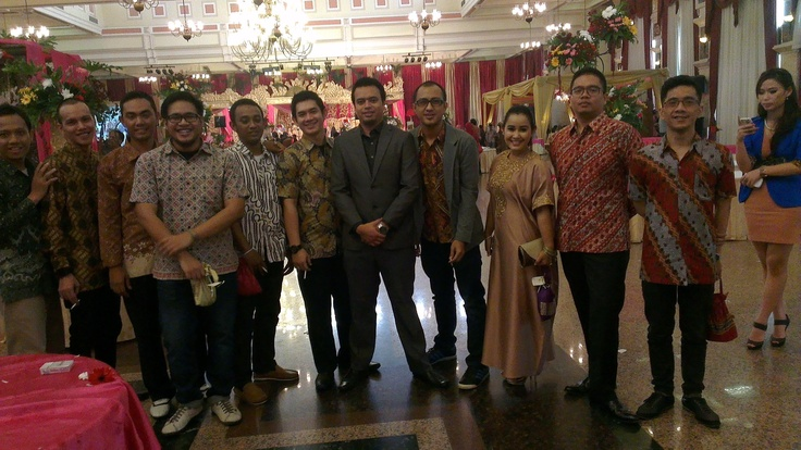 Eko's wedding, old times old friends. Time goes by :)