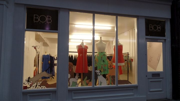 Dawn O'Porter – BOB Pop-up Shop by Hello Flamingo, London – UK » Retail Design Blog