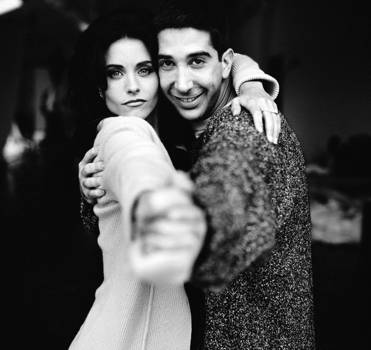 Ross & Monica Gellar- Friends