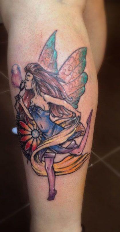 #fairytattoo #tattoos #girlytattoo