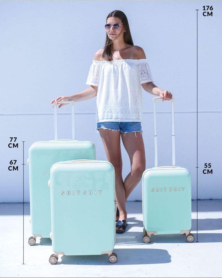 Travel suitcase - Sakura Blossom - 77 CM - SUITSUIT