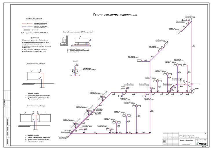 Аксонометрическая схема систем