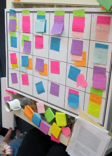 Goodreads | Kira Brady's Blog - How to Plot a Novel: The Plotting Board Method - September 24, 2012 03:00