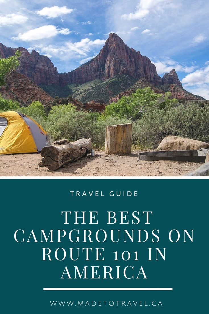 Campgrounds on Highway 101: The Top Places to Stay