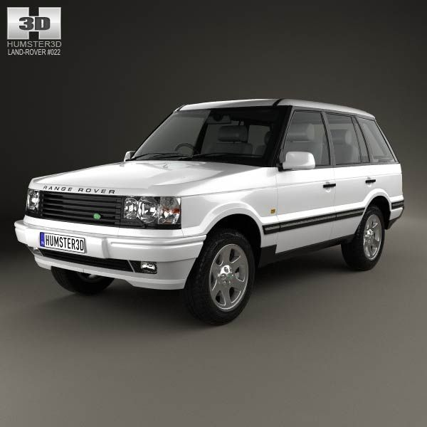 Land Rover Range Rover 1998 3d Model From Humster3d.com