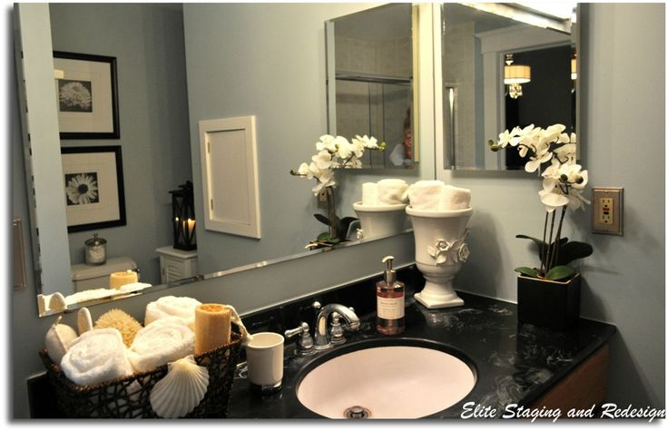 Bathroom Counter Decor, Bathroom Vanity Decor And